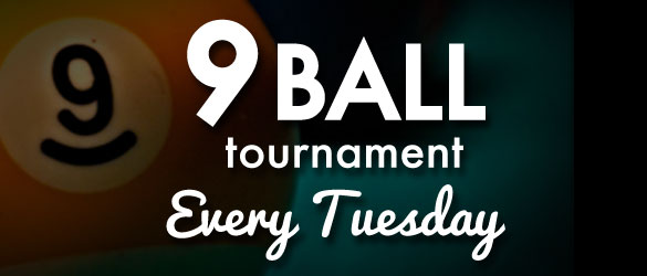 College Billiards 9 ball Tournament